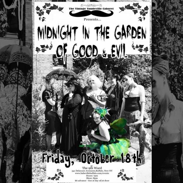 Vintage Vaudeville Cabaret presents Midnight in the Garden of Good and Evil