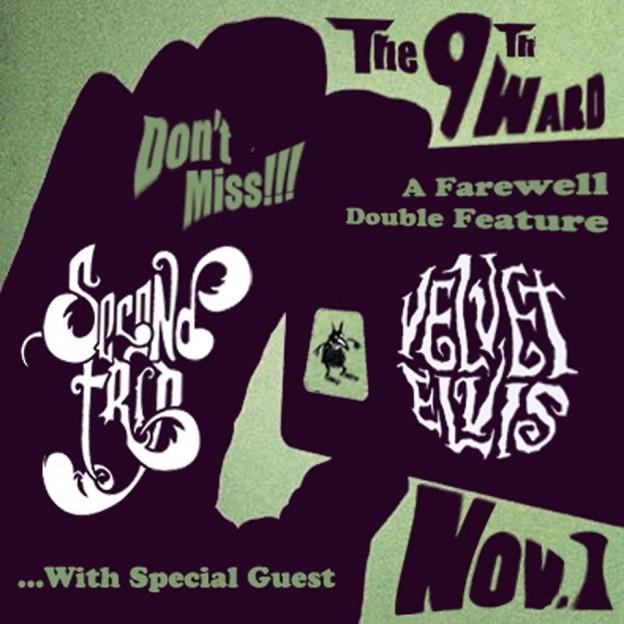 Second Trip and Velvet Elvis with Cosmic Shakedown