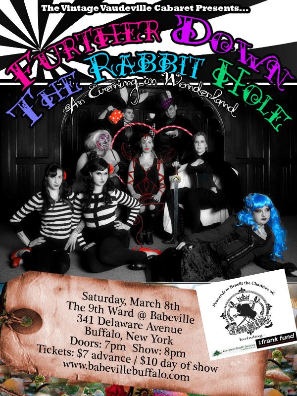 Vintage Vaudeville Cabaret presents Further Down the Rabbit Hole