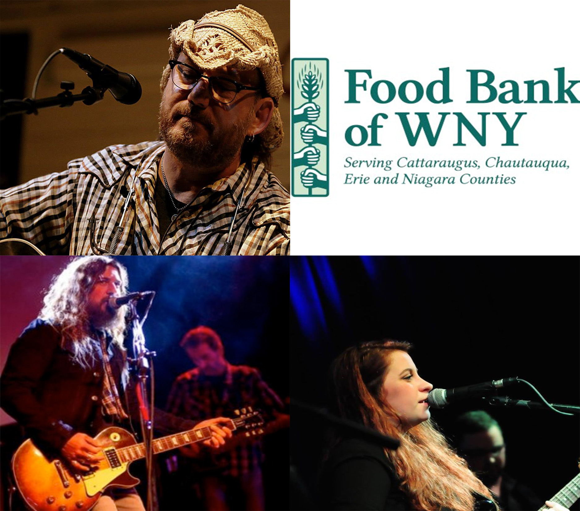 2017 Davey O. & Friends - A Benefit for the Food Bank of WNY