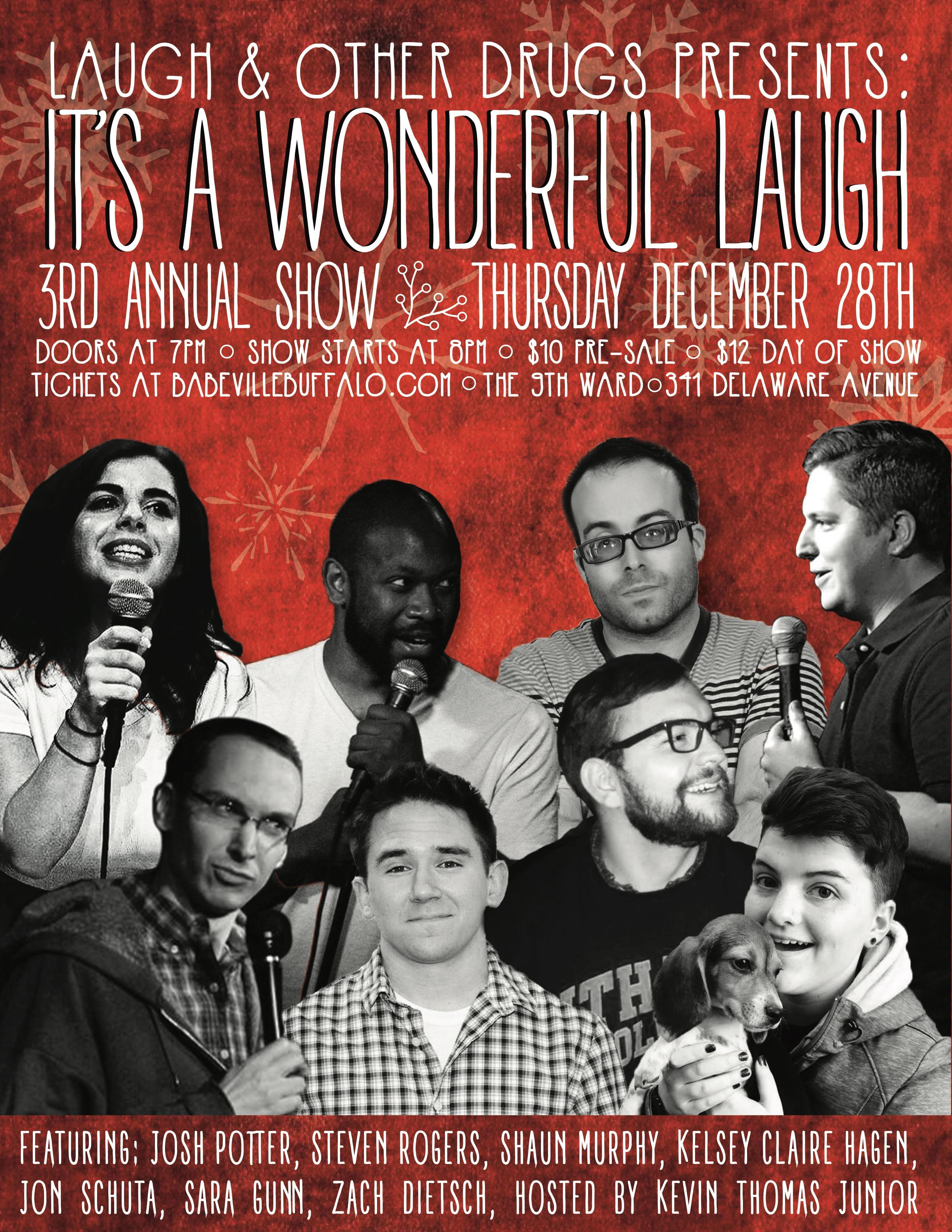 Laugh & Other Drugs: It's a Wonderful Laugh
