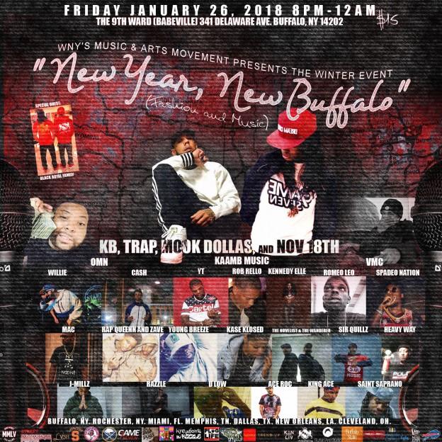 New Year, New Buffalo - Fashion and Music