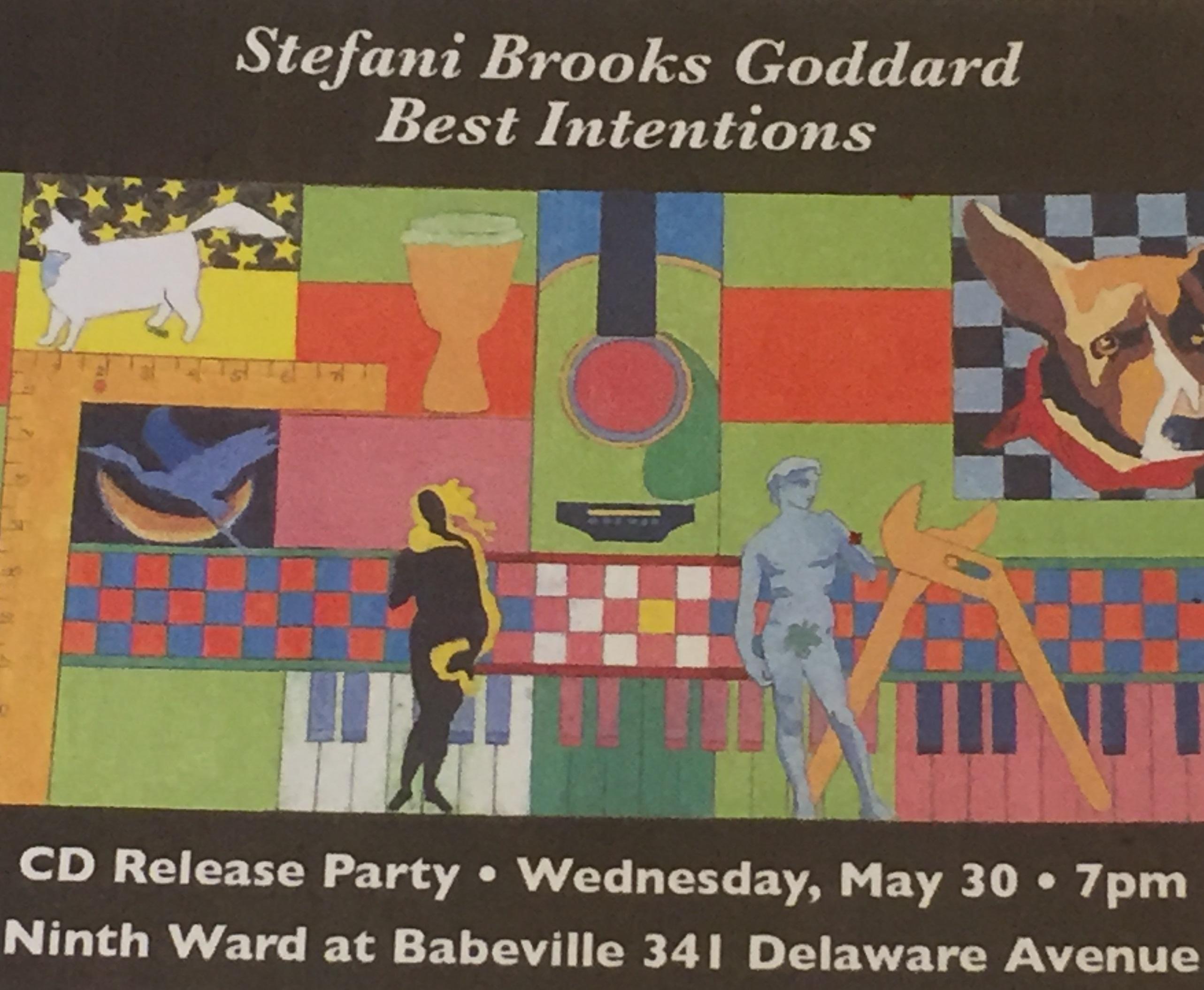 Stefani Goddard CD Release Party