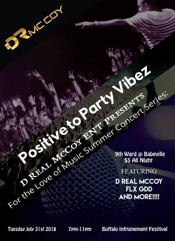 Buffalo Infringement Festival: Positive to Party Vibez