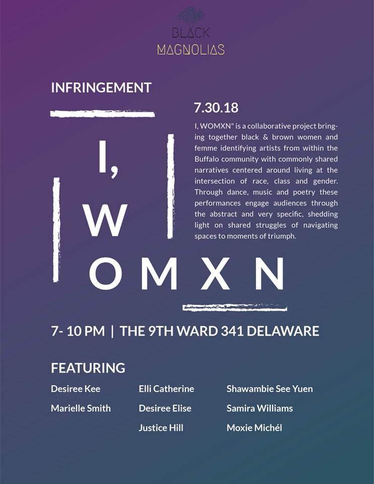 Buffalo Infringment Festival: I, WOMXN