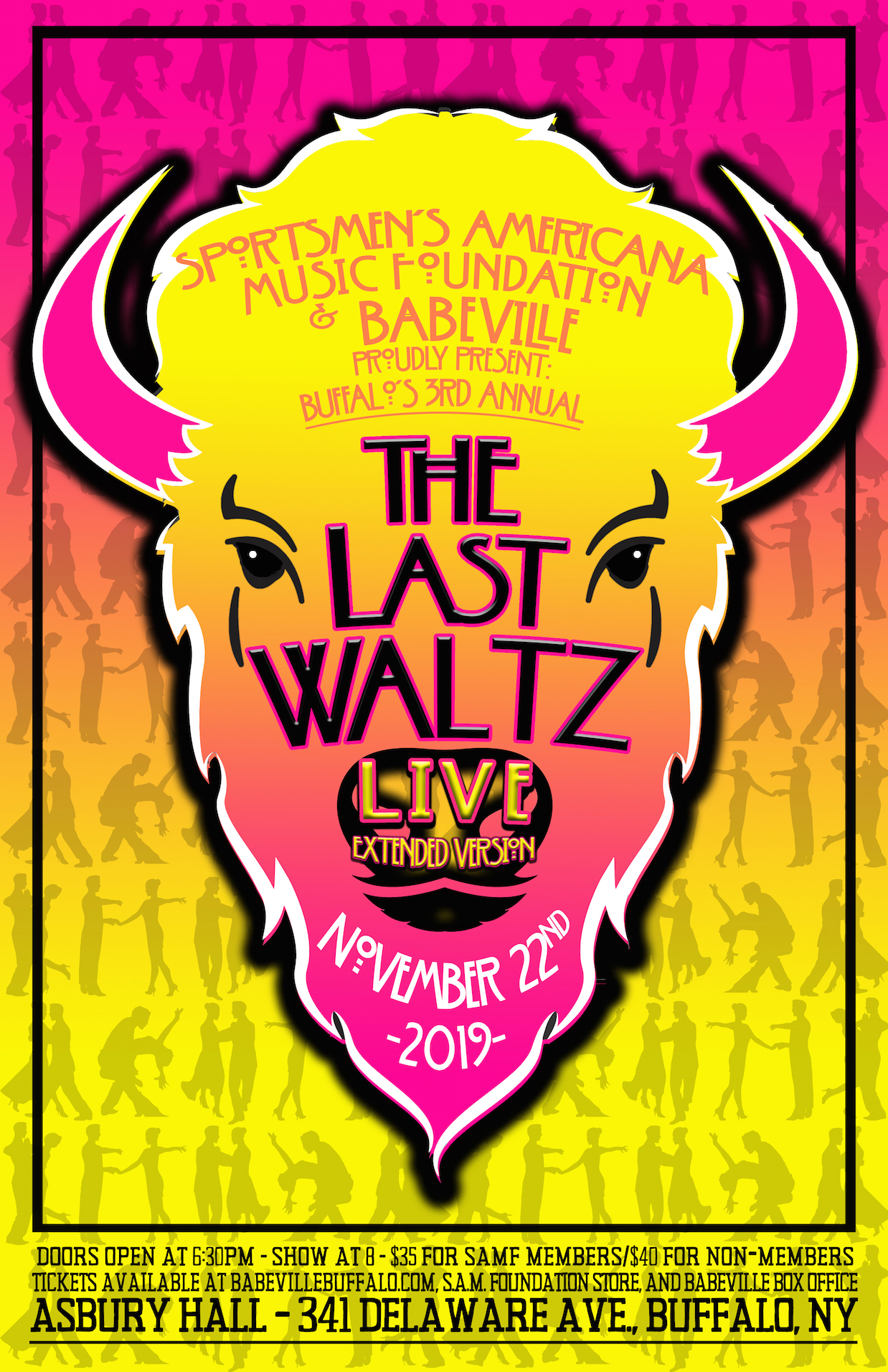 Buffalo's 'The Last Waltz' Live *SOLD OUT*