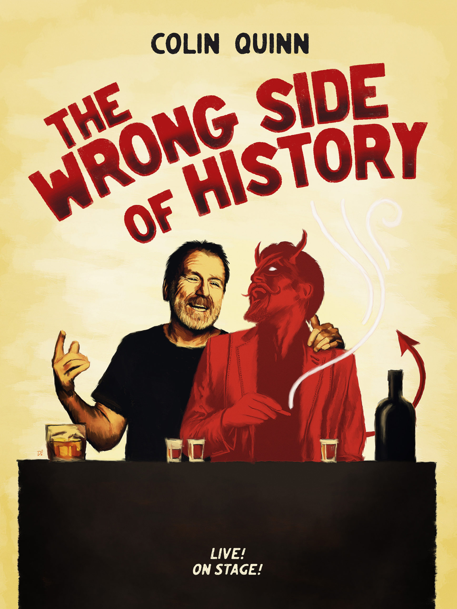 CANCELED Colin Quinn: The Wrong Side of History