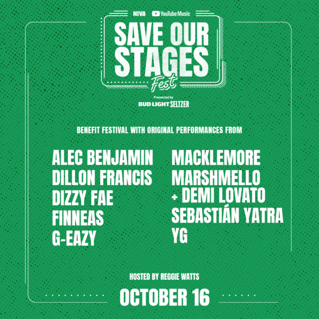 Save Our Stages Fest presented by NIVA and YouTube Music [Day 1]