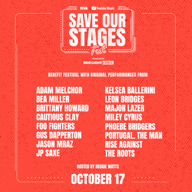 Save Our Stages Fest presented by NIVA and YouTube Music [Day 2]