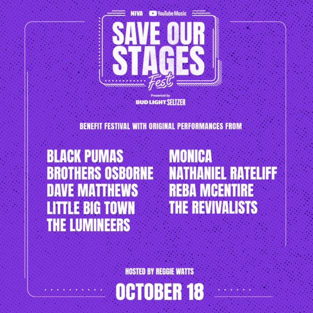 Save Our Stages Fest presented by NIVA and YouTube Music [Day 3]