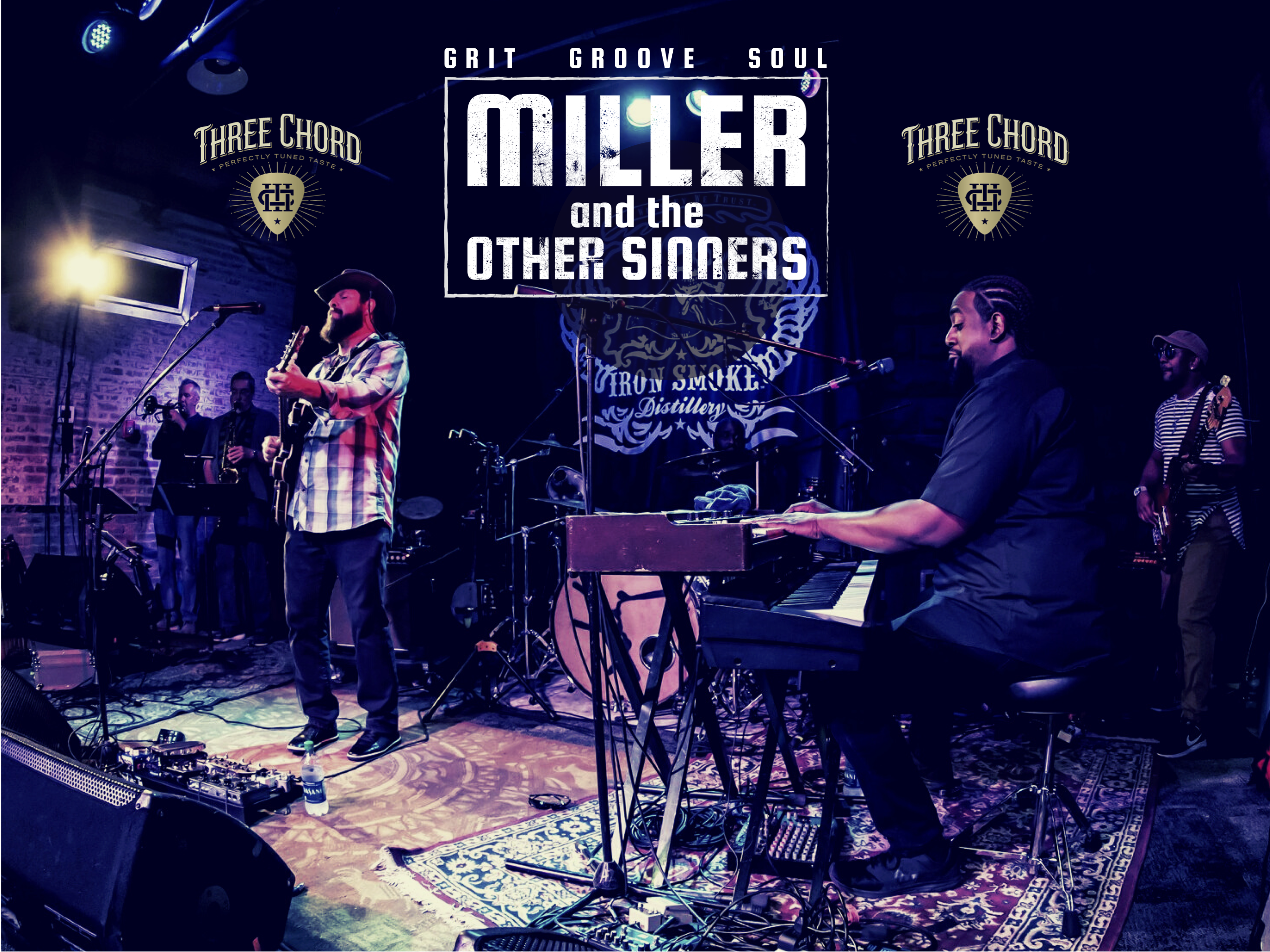 Miller and the Other Sinners livestream from Asbury Hall