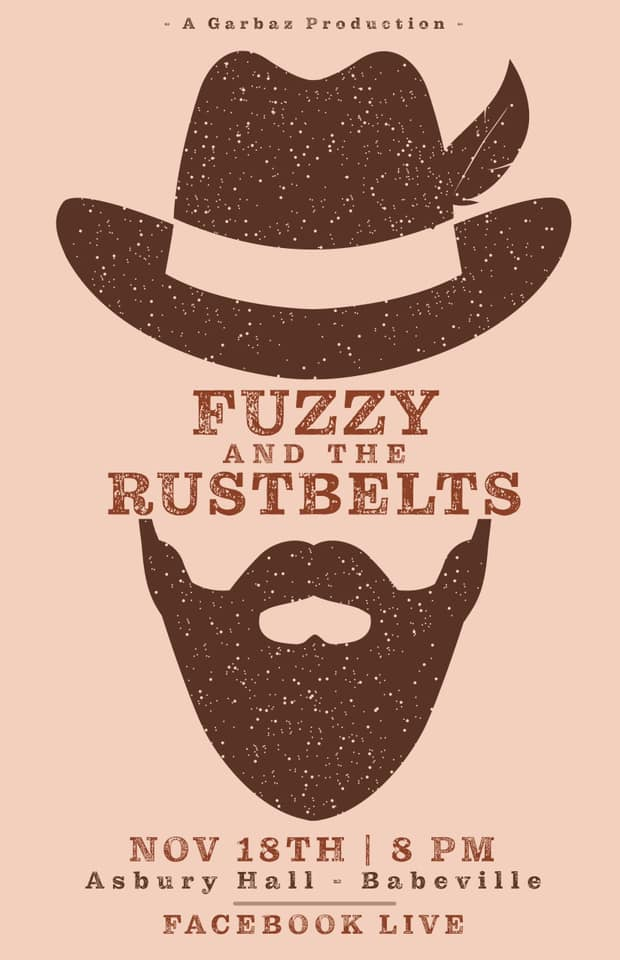 CANCELED Fuzzy & The Rustbelts livestream from Asbury Hall