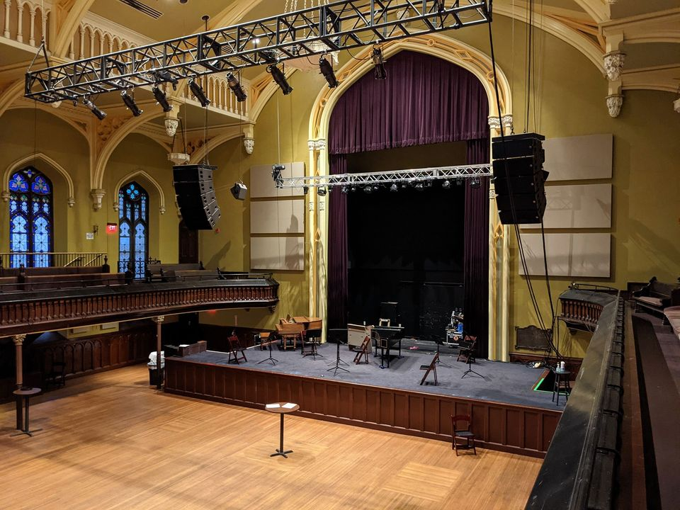 Buffalo Chamber Players Live Winter Stream from Asbury Hall