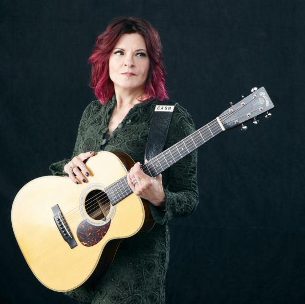 Rosanne Cash live in Asbury Hall