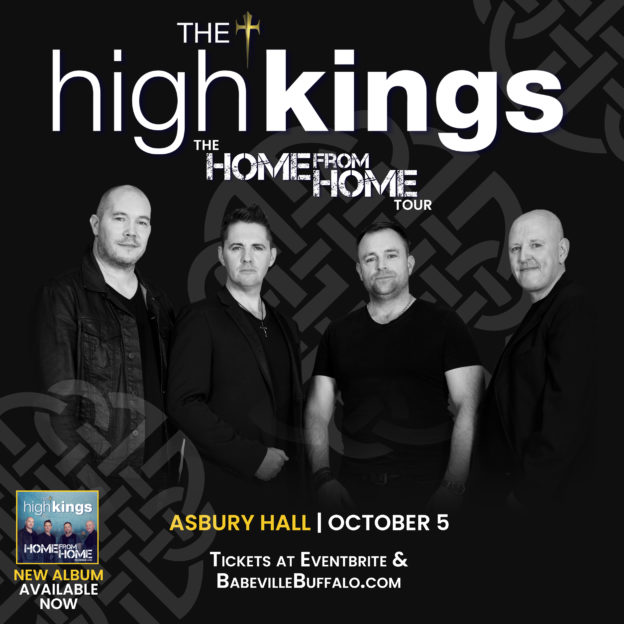 The High Kings live in Asbury Hall