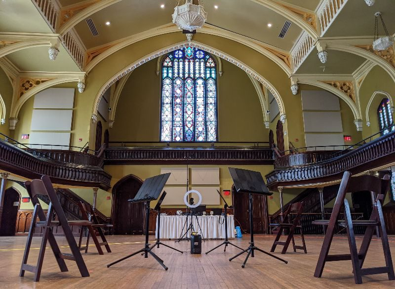 Buffalo Chamber Players live stream from Asbury Hall