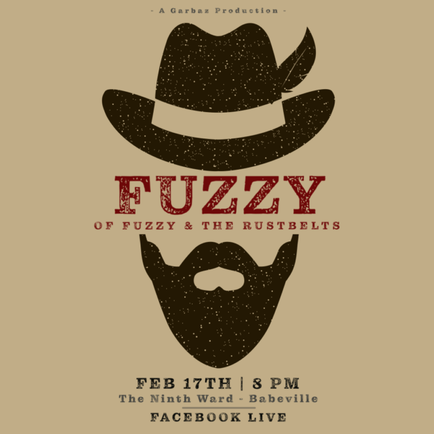 Fuzzy (of Fuzzy & The Rustbelts) livestream from 9th Ward