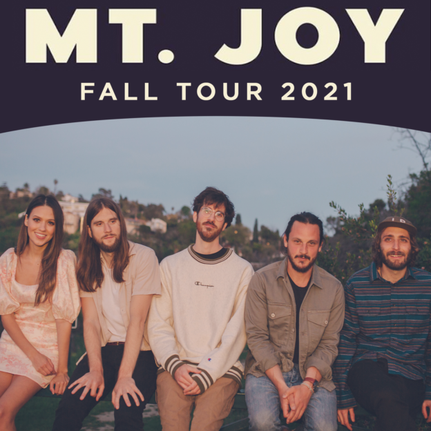 Mt. Joy live in Asbury Hall