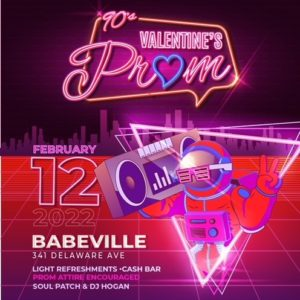 Valentine's Prom (with DJ Hogan, Geezer, and Off The Wall) benefiting Autism Services