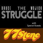 Bruce Wojick & The Struggle w/ 77 Stone live in Asbury Hall
