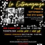 Los Artistas del Barrio Extravaganza - A Red Carpet Affair