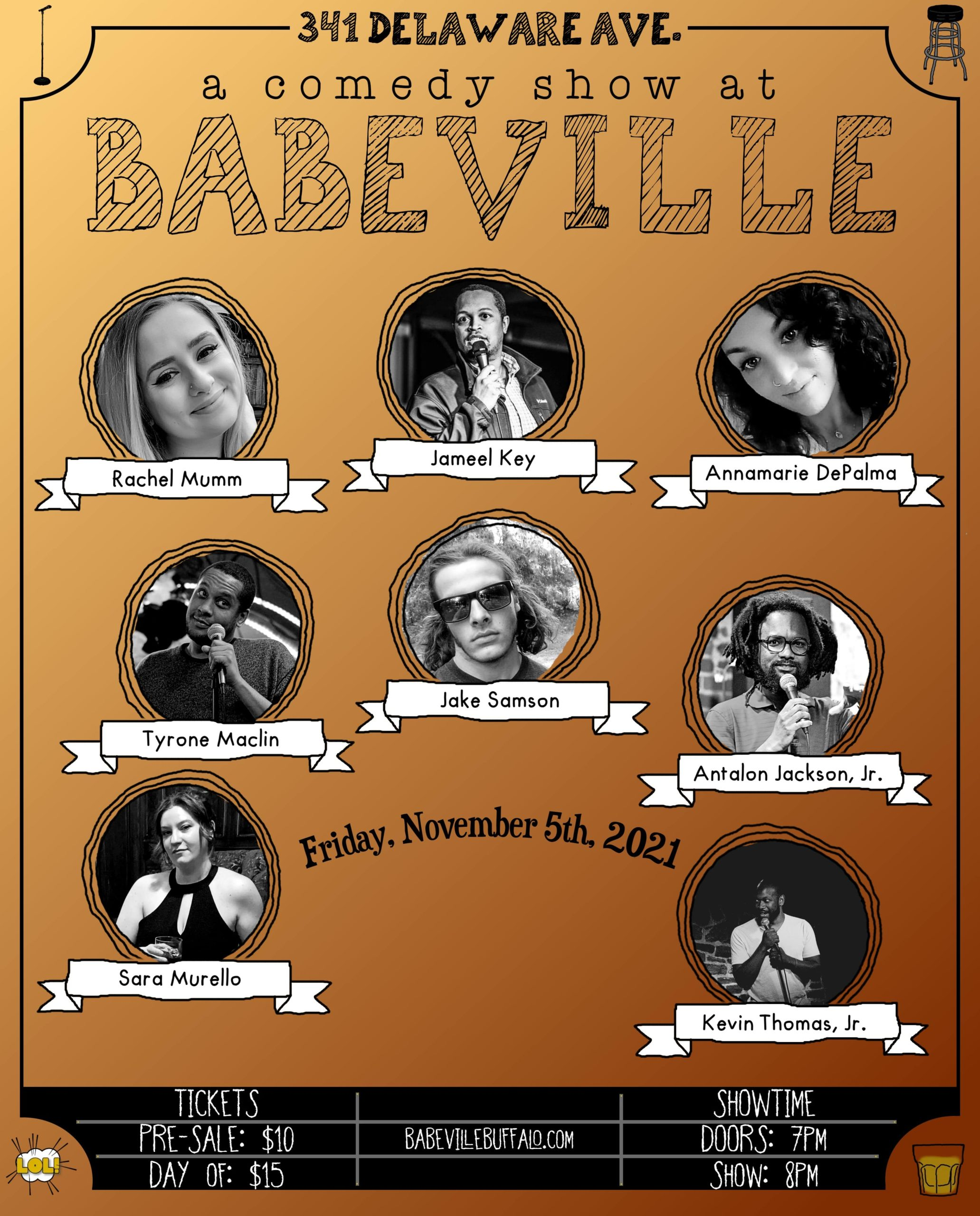 Comedy at Babeville!